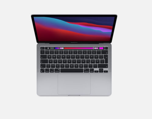 "MacBook Pro 13"" - M1 8-Core CPU / 8-Core GPU / 16-Core Neural Engine / Spacegrau"